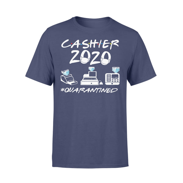 Cashier 2020 Face Mask #quarantined T-shirt XL By AllezyShirt