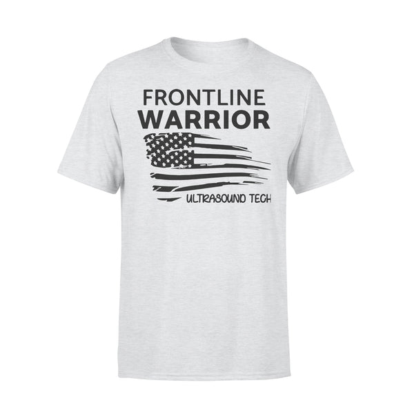 Independence Day Frontline Warrior Ultrasound Tech T-shirt XL By AllezyShirt