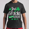 2Nd Grade Shamrocks Funny St. Patricks Day Kid Boy Girl Gift Shirt M By AllezyShirt