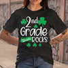 2Nd Grade Shamrocks Funny St. Patricks Day Kid Boy Girl Gift Shirt S By AllezyShirt