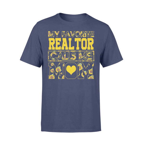 Sunflower My Favorite Realtor Calls Me Love Mom Shirt XL By AllezyShirt