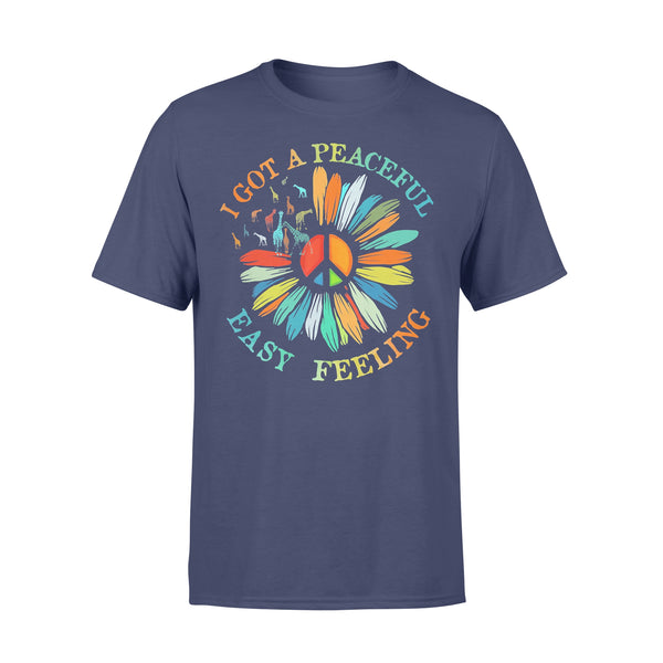 Official Sunflower I Got A Peaceful Easy Feelingshirt T-shirt XL By AllezyShirt