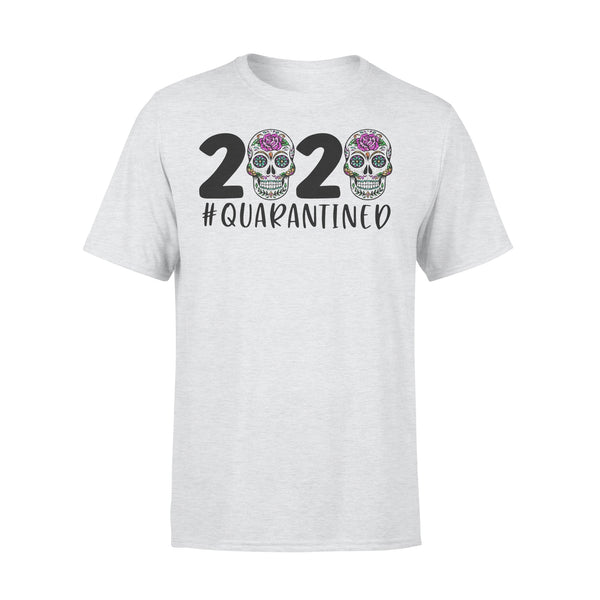 Day Of The Dead Skull 2020 Quarantined T-shirt XL By AllezyShirt