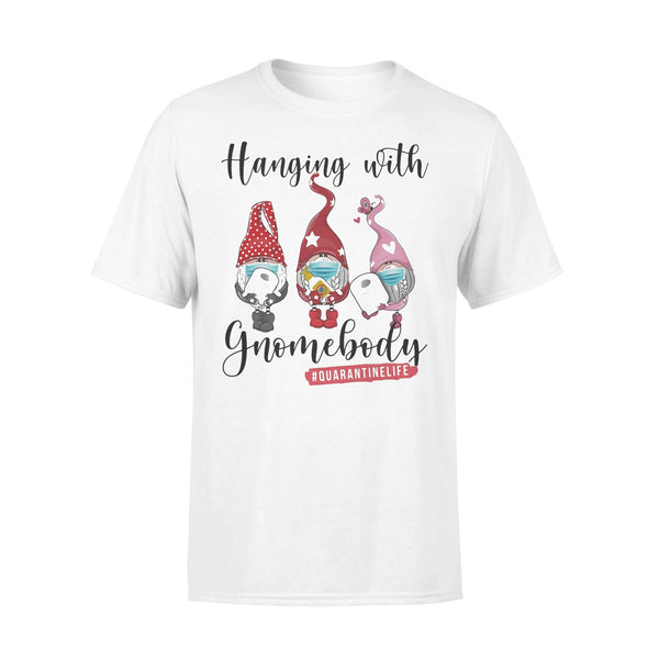 Gbomes Hanging With Gnomebody Mask Toilet Paper Quarantinelife T-shirt L By AllezyShirt