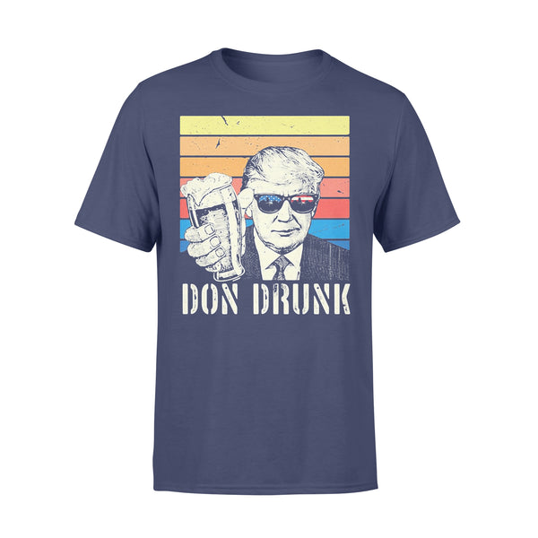 Donald Trump Don Drunk Beer Independence Day Vintage Retro T-shirt XL By AllezyShirt