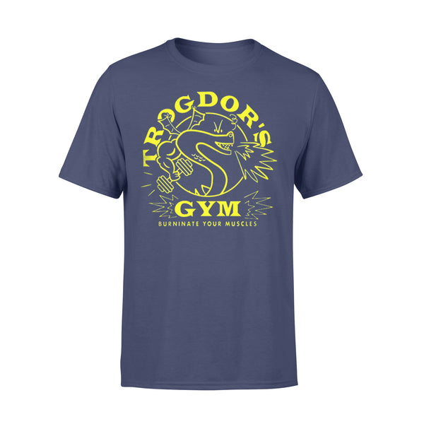 Trogdor's Gym Burninate Your Muscles T-shirt XL By AllezyShirt
