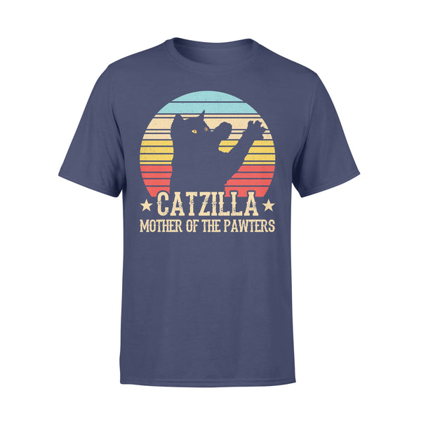 Catzilla Mother Of The Pawters Vintage T-shirt XL By AllezyShirt