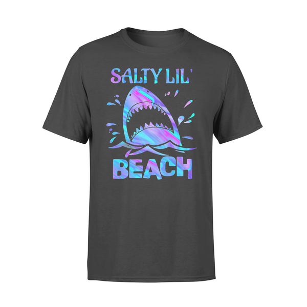 Shark Salty Little Beach T-shirt L By AllezyShirt