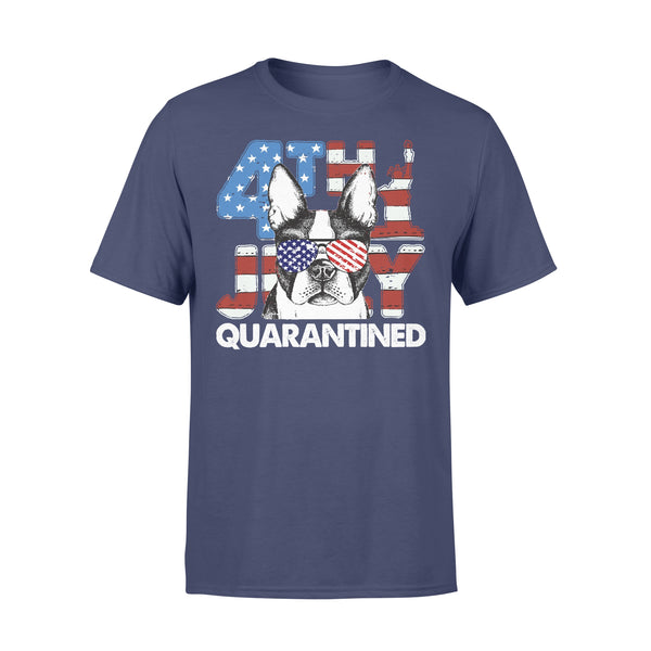 Terrier 4Th Of July Merica Quarantined Gifts Funny T-shirt XL By AllezyShirt