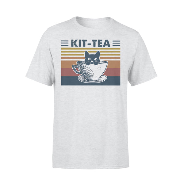 Cat Kit Tea Vintage T-shirt XL By AllezyShirt