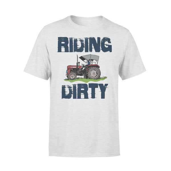 Farm Tractor Riding Dirty T-shirt XL By AllezyShirt