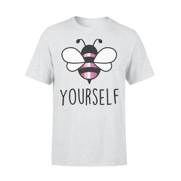 Bee YourSelf Lesbian Bee Gay Pride LGBT Rainbow T-shirt XL By AllezyShirt