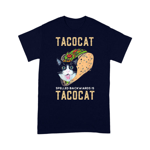 Food Lover Tacocat Spelled Backwards Is Tacocat T-shirt M By AllezyShirt