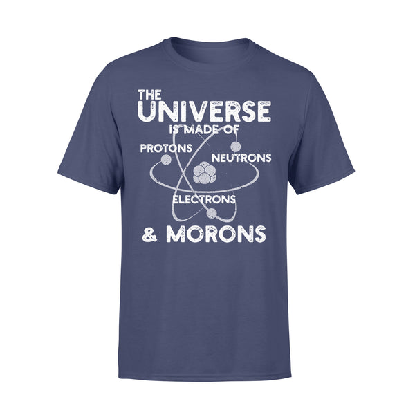 The Universe & Morons T-shirt XL By AllezyShirt