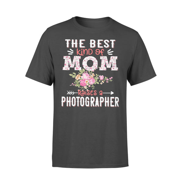 The Best Kind Of Mom Raises A Photographer T-shirt L By AllezyShirt