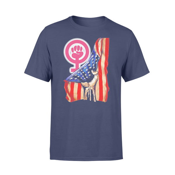 Transparent Women Usa Flag 2020 Shirt XL By AllezyShirt
