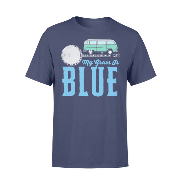 My Grass Is Blue Banjo T-Shirt XL By AllezyShirt