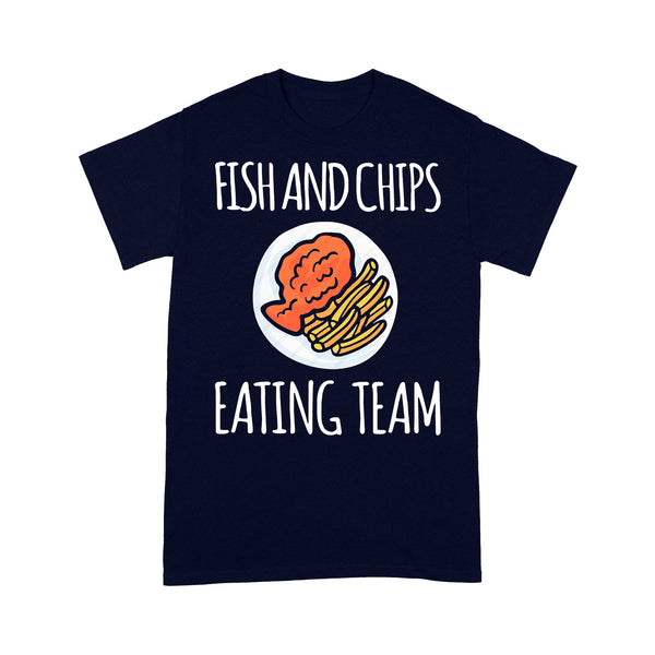 Fish And Chips Eating Team T-shirt M By AllezyShirt