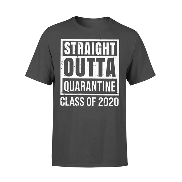 Straight Outta Quarantine Class Of 2020 Distressed Shirt L By AllezyShirt