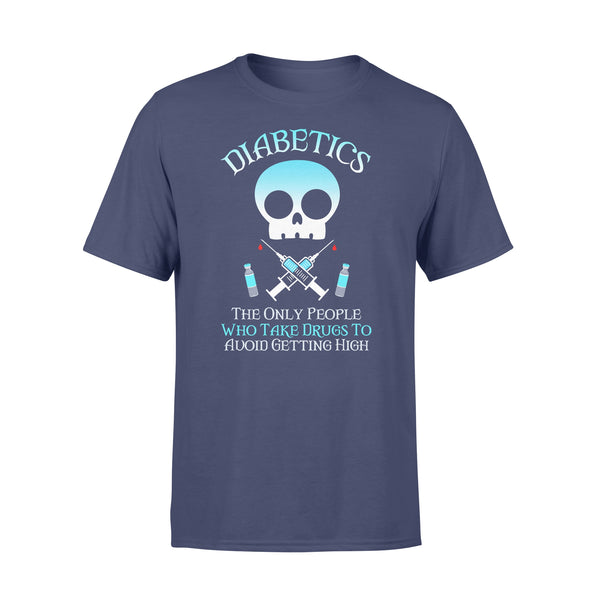 Skull Nurse Diabetics People Who Take Drug To Avoid Getting High T-shirt XL By AllezyShirt