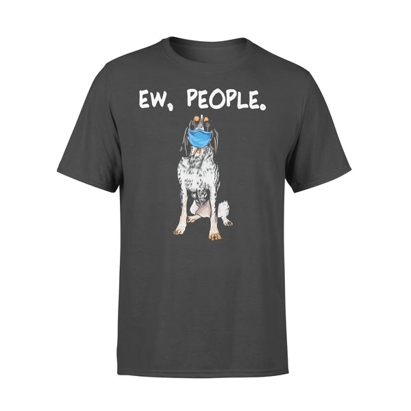 Face Mask Bluetick Coonhound Ew People Dog T-shirt L By AllezyShirt
