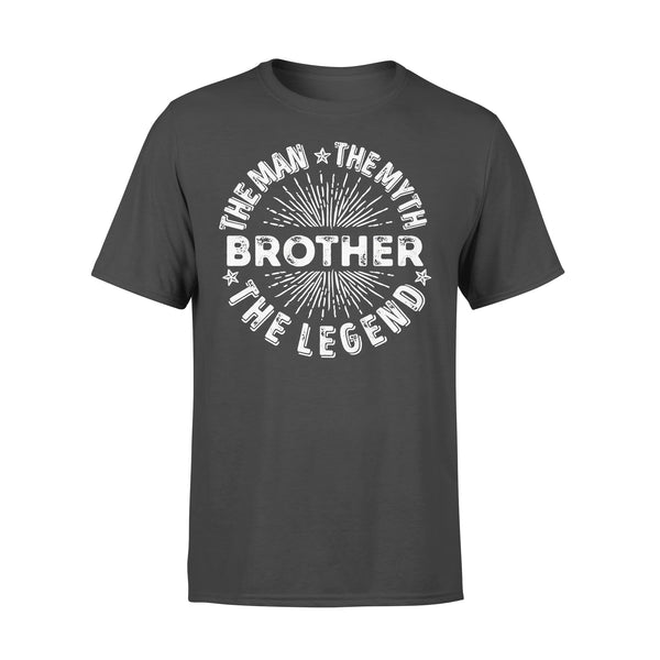 Brother The Man The Myth The Legend Star T-shirt L By AllezyShirt