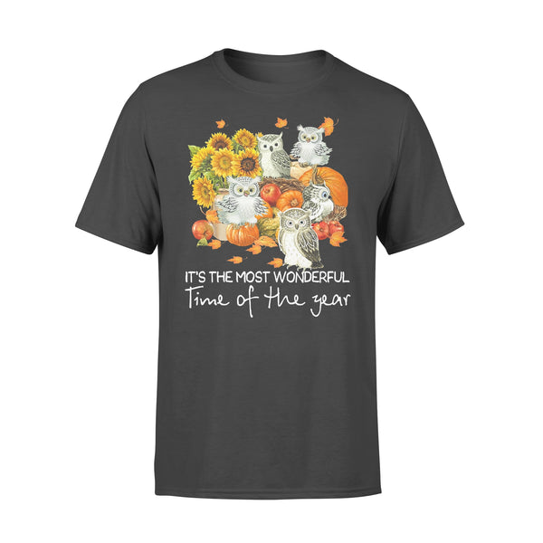 Owls Gang It's The Most Wonderful Time Of The Year T-shirt L By AllezyShirt