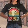 40 And Quarantined 2020 The Year Shit Got Real Toilet Paper Vintage T-shirt M By AllezyShirt