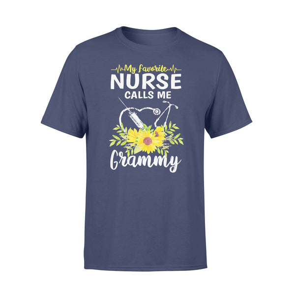 My Favorite Nurse Calls Me Grammy Sunflowers T-shirt XL By AllezyShirt
