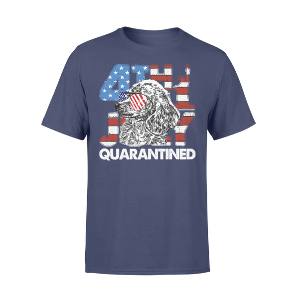 Poodles 4Th Of July Merica Quarantined Gifts Funny T-shirt XL By AllezyShirt