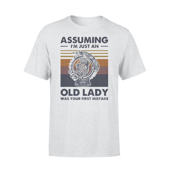 Witchcraft Assuming I'm Just An Old Lady Was Your First Mistake Vintage T-shirt XL By AllezyShirt