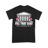 Fill That Seat Put A Woman On It Election T-shirt L By AllezyShirt