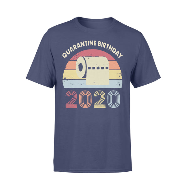 Quarantined Birthday Toilet Paper 2020 Vintage T-shirt XL By AllezyShirt