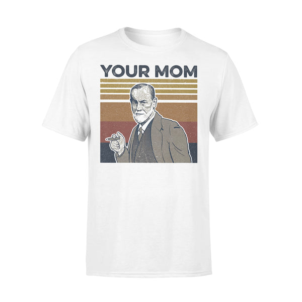 Your Mom Sigmund Freud Vintage Retro T-shirt S By AllezyShirt