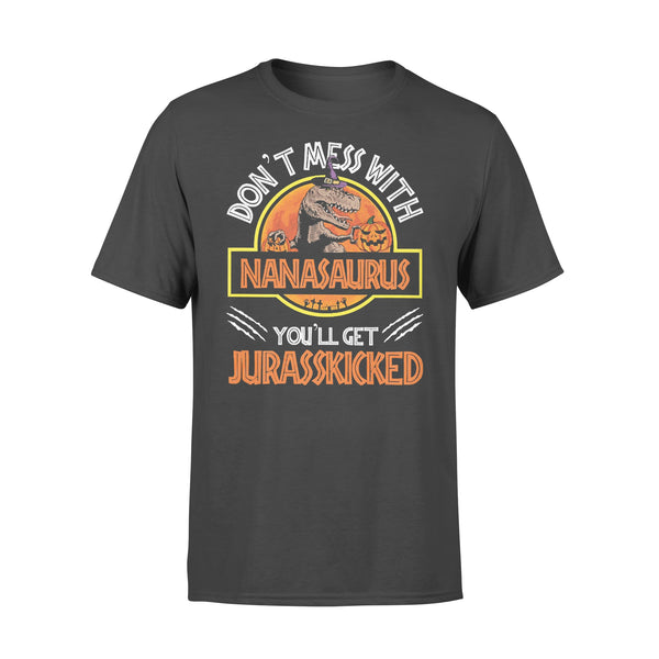 Don't Mass With Nanasaurus You'll Get Jurasskicked Halloween T-shirt L By AllezyShirt