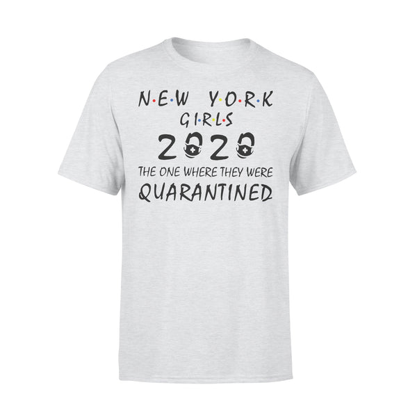New York Girls 2020 The One Where They Were Quarantined Shirt XL By AllezyShirt