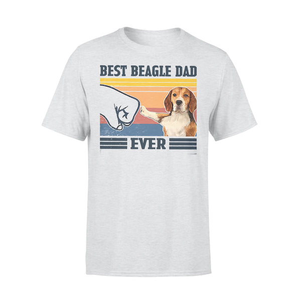 Father's Day Best Beagle Dad Ever Vintage T-shirt XL By AllezyShirt