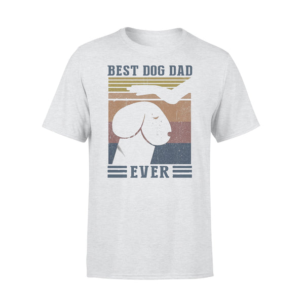 Best Dog Dad Ever Funny Meme Vintage T-shirt XL By AllezyShirt