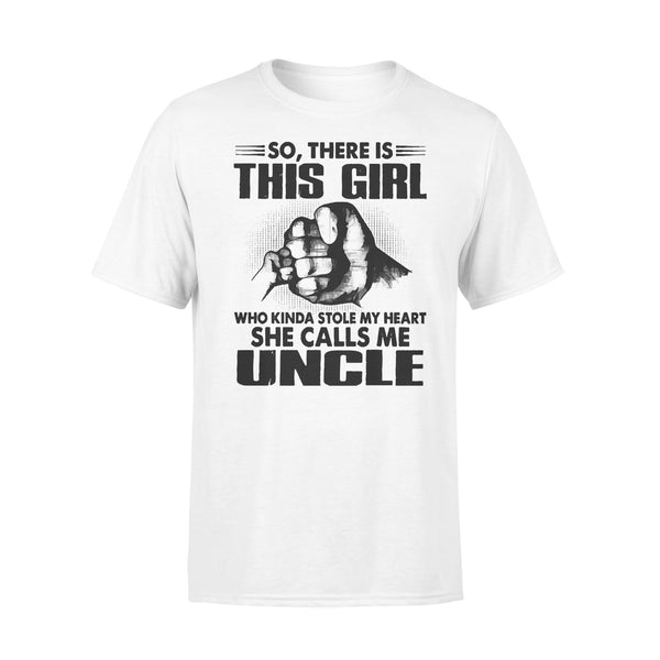 This Girl Who Kinda Stole My Heart She Call Me Uncle T-shirt L By AllezyShirt