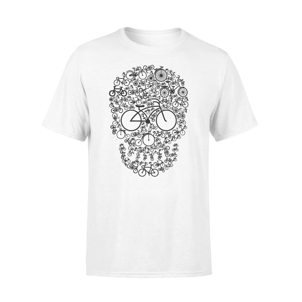 Bicycle Sugar Skull T-shirt L By AllezyShirt