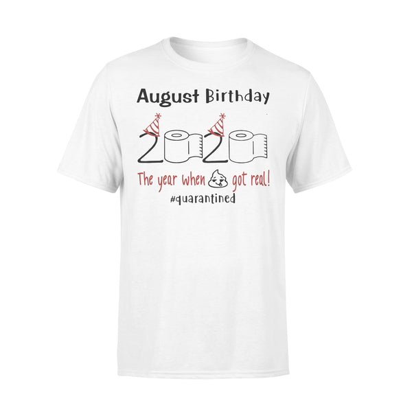 August Birthday 2020 Quarantined Shirt L By AllezyShirt
