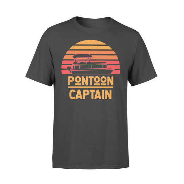 Pontoon Captain Vintage Retro T-shirt L By AllezyShirt