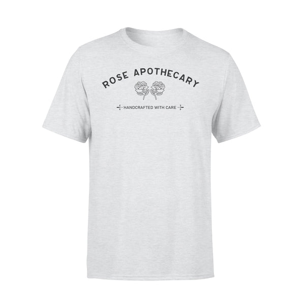 Rose Apothecary Handcrafted With Care T-shirt XL By AllezyShirt