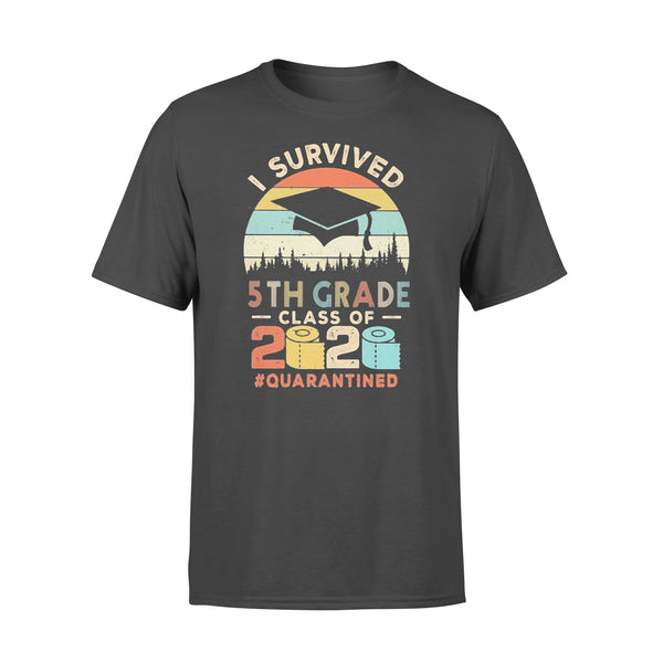 I Survived 5Th Grade Class Of 2020 Quarantined Toilet Paper T-shirt L By AllezyShirt
