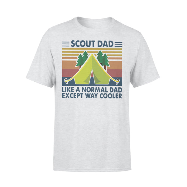 Scout Dad Like A Normal Dad Except Way Cooler Vintage T-shirt XL By AllezyShirt