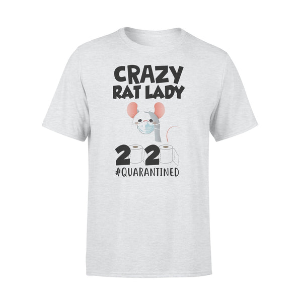 Crazy Rat Lady 2020 Isolated Toilet Paper Mask T-shirt