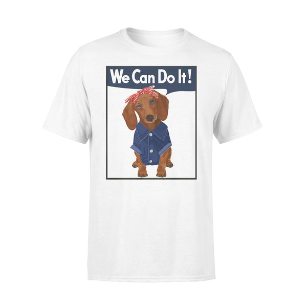 Dachshund We Can Do It Shirt L By AllezyShirt