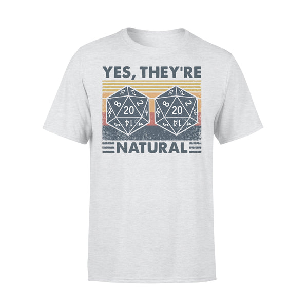 DM Yes They're Natural Math Vintage T-shirt XL By AllezyShirt