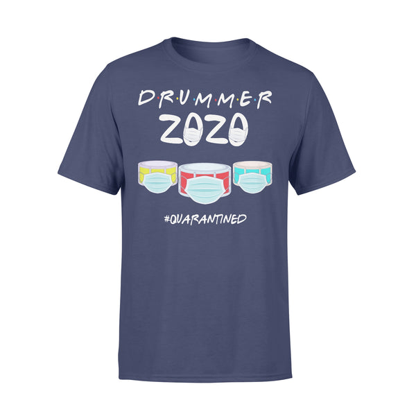 Drummer 2020 Quarantined Covid-19 T-shirt XL By AllezyShirt