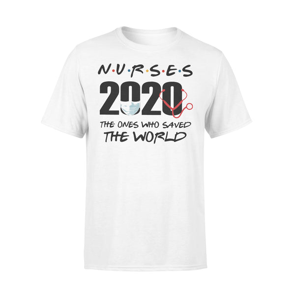 Nurses 2020 The Ones Who Saved The World Shirt L By AllezyShirt
